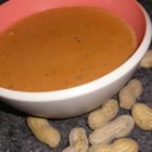 West African Peanut Soup - A delightful flavor combination of peanut butter and tomatoes make this soup an unconventional favorite. Freezes and reheats well to be enjoyed all year long!