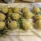 Goat Cheese Risotto Balls - Any kind of risotto will work when preparing these tasty fried risotto balls stuffed with goat cheese. Use a prepackaged mix, or leftovers. As an appetizer or entree, Goat Cheese Risotto Balls are a favorite.