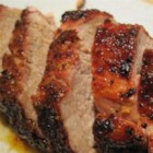 Pepper Jelly Pork - This quick and easy recipe for spicy-sweet pepper jelly pork tenderloin is a sure-fire crowd-pleaser.