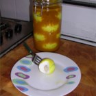 Photo of: Mustard Pickled Eggs - Recipe of the Day