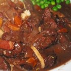 Beef Bourguignon I - A two-day marination of the meat in the refrigerator and long, slow cooking ensure tenderness and flavor for this version of a traditional French dish. Hearty but elegant enough for a dinner party.