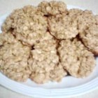 Old Fashioned Oatmeal Cookies III - Almond extract gives these a unique flavor.