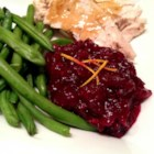 Orange Cranberry Sauce - Cranberry sauce is given an extra zing with the addition of orange juice and zest.