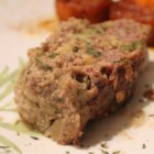 Meatloaf Stuffing - Combine the traditional ingredients for meatloaf with stuffing ingredients and a layer of cream of mushroom soup creating a meatloaf stuffing for a new addition to the holiday table.