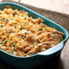 NO YOLKS(R) Tuna Noodle Casserole - Nothing says comfort like a golden, bubbly, delicious tuna casserole made with always smooth, firm and delicious NO YOLKS(R) Noodles.