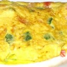 Crab and Swiss Omelet - A delicious omelet made with Dungeness crab, mushrooms, and Swiss cheese.