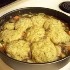 Herbed Dumplings - Savory dumplings for beef or chicken stew.