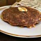 Oatmeal Raisin Cookie Pancakes - All the flavors and ingredients for oatmeal raisin cookies are paired with pancake batter, creating a hearty and delicious oatmeal raisin cookie pancake.