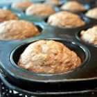 Oat Applesauce Muffins - These hearty muffins will fill you up with fiber and flavor instead of fat.