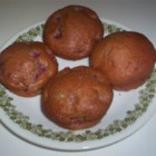 Jacky's Fruit and Yogurt Muffins - These are very moist muffins.  Match the type of yogurt to the type of fruit you are using.