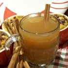 Hot Spiced Cider - This traditional holiday drink is indispensable to those who covet the ubiquitous fireside family gatherings on cold winter evenings. This recipe uses an automatic coffee maker to brew the cider. If you don't own one, heat it in a saucepan over medium heat on the stovetop. Grab your mugs and dive into this hot drink!