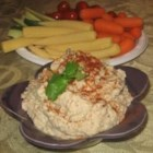White Bean Dip - An awesome alternative to the usual refried beans and tortilla chips.  Serve this dip with pita chips or veggie wheat crackers
