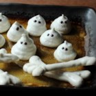 Meringue Bones and Ghosts - Don't let meringue scare you away from making Chef John's easy recipe for Halloween meringue bones and ghosts!