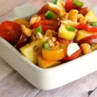 Delicious Spicy Tomato Salad - If you are looking for an ideal side dish for your curry buffet, try this out! Your guests will be impressed!  No one can resist this 'Thai' style salad!