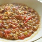 Black-Eyed Pea Gumbo - A winter time favorite at our house. We always have it for New Year's Day while we watch football! Serve with a tossed salad and corn bread.
