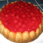 Christmas Cheese Cake - A very festive-looking cheesecake for the holidays (calories don't count!).