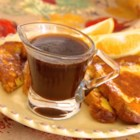 Pumpkin Spice Syrup - Serve this hot pumpkin spice syrup over pumpkin pancakes or your favorite flapjacks.