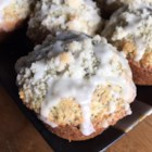 Lemon Poppy Seed Muffins I - Crunchy little poppy seeds meet their match in these sweet, lemony muffins.