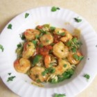 Caribbean Pasta with Shrimp - A sweet, tangy, spicy shrimp dish. You can prepare the sauces ahead of time and refrigerate.