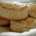 J.P.'s Big Daddy Biscuits - Homemade fluffy biscuits are easy to make with this simple recipe using plenty of baking powder to help create giant biscuits. Serve with gravy or butter and jam.