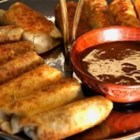Cheesesteak Egg Rolls - This appetizer combines two great favorites.  It's a crispy egg roll on the outside, with a delicious cheesesteak filling on the inside.