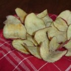 Microwave Potato Chips - Use the magic power of a microwave to make your own oil-free potato chips.