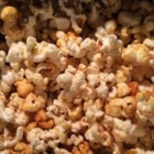 Spicy Sweet Stovetop Popcorn - Coconut oil, agave nectar, and chipotle chile powder create a sweet and spicy treat ready in minutes.