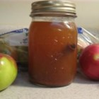 Apple Pie in a Jar Drink - This tastes just like apple pie! Great in the autumn around a campfire or on a hay-ride. Put it in canning jars with rings and lids for that down-home country appeal.