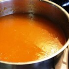 Hot Mango Peppa Sauce - This DIY recipe for homemade hot sauce is sweetened with fresh mango.
