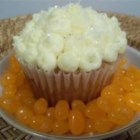 Marie-Claude's Orange Cake - This cake is the one my mother is preparing like a chef! It is really simple but excellent. You cannot fail it. Good luck and degustez avec bon! (The cake will look dark orange so if you use black decoration on it, it is a perfect Halloween dessert).