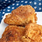 Brown Diner Fried Chicken - Fried chicken made with a double layer of breading is easy to prepare and will quickly become a family-favorite.