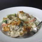 Chicken LaPaloma - This quick and easy chicken casserole uses cream of chicken soup and frozen mixed vegetables to deliver a full meal in one dish.