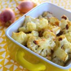 Dijon Roasted Cauliflower - Roasted cauliflower in a Dijon mustard sauce is a flavorful and easy side dish that will convert cauliflower-haters into cauliflower-lovers.