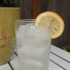 Bitter Lemon Soda - Homemade bitter lemon soda with a hint of lavender is a refreshing drink for hot summer days.