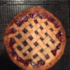 Cranberry Cherry Pie - This is my favorite recipe to make for the holidays.  It tastes too good to be this easy.  If you don't make your own dough, simply use dough mix or refrigerated crusts - it will taste just as delicious.