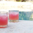 Tornado Twist - Cranberry-raspberry juice is softened with the sparkle of lemon-lime soda.