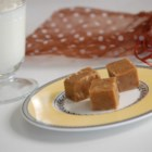 Penuche Fudge - This penuche has white and brown sugar, half-and-half, milk -- and of course pecans.