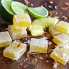 Pina Colada Fruit Jellies - Fruit jellies are a simple and sweet treat, but when you give them a pina colada flavor, you just might find them addicting.