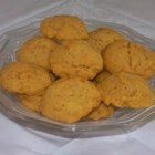 Pumpkin Cookies II - These pumpkin and walnut drop cookies are spiced with cinnamon and use a combination of margarine and vegetable oil in the batter.