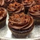 Dark Chocolate Bacon Cupcakes - Dark Chocolate. Bacon. What's not to love? Take yourself on a taste adventure and give these a go. They were a challenge by friends that turned into a great success.