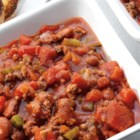Hearty Chili from RED GOLD(R) - Thick and rich chili with an ingredient that might surprise some…a little sweetness to balance the tomatoes, and it's not sugar.  You don't have to share your secret…and we won't tell either!