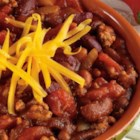 Sweet Turkey Chili from RED GOLD(R) - A simple chili recipe with three types of beans, turkey, diced tomatoes, spices and a touch of sweetness. This thick and rich chili recipe will surely be added to your regular dinner menu.