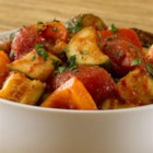 Slow Cooker Ratatouille from RED GOLD(R) - Vegetables are sautéed for extra flavor before adding to the slow cooker. Tomato Paste and Crushed Tomatoes are added to them, along with fresh herbs.  A French classic that is great as an entrée or a perfect side dish.
