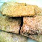 Graham Crackers - A sweet whole wheat cracker. These are very versatile. They can be eaten plain or used in recipes as whole crackers or just crumbs.