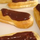 Eclairs II - My family loves these eclairs and request them all the time. I usually make them as dessert whenever we have company coming, they are always a hit!