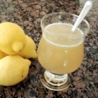 Tasty Lemonade - This lemonade made with brown sugar is good on hot days, and very successful at lemonade stands served with a twist of lemon.
