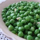Italian Peas - You'll never look at peas the same way again. Peas combine with sauteed garlic and onions, and then simmer with a bit of chicken stock until tender.