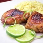 Key West Chicken - This recipe from the Florida Keys has been given to almost everyone I know. It is the best marinade for chicken, and it only takes 30 minutes from prep till you can grill! It's a great blend of flavors with honey, soy sauce, and lime juice. If you have time, try marinating overnight for the fullest flavor.