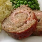 Meatloaf Cordon Bleu - A meatloaf with ham and Provolone cheese rolled up inside for a tasty surprise. A terrific blend of two classic recipes.