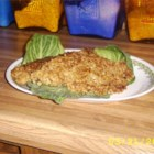 Oat Crusted Fish - Cod fillets are coated in oats and fried to a crunchy crispy finish. Try it for a change. I think it is traditionally Scottish. Serve warm with chips and lemon or salad.
